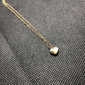 Ted Baker Gold Tiny Heart Pendant Necklace